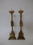 Sakrale Kerzenleuchter, ca. 1860
