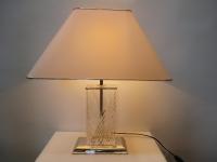 Tischlampe, chrom